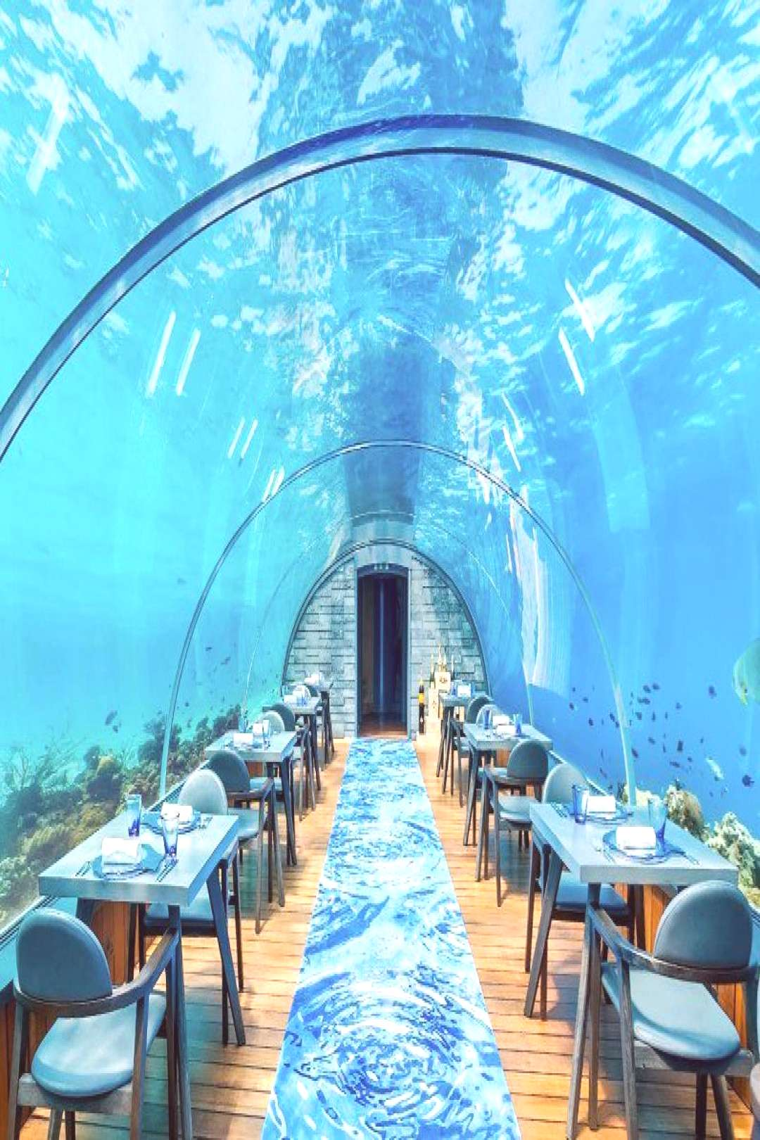 14 underwater restaurants around the world#restaurants