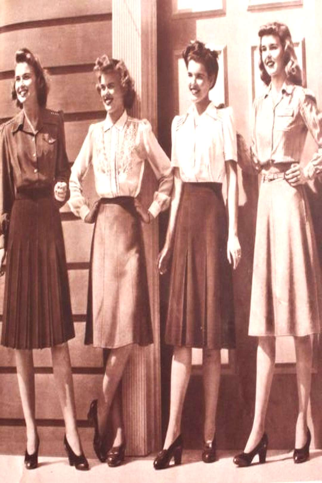 1940s Fashion Icons 1940's Vintage Fashion Inspiration For Vintage Expert Kate Beavis, blogger, wri