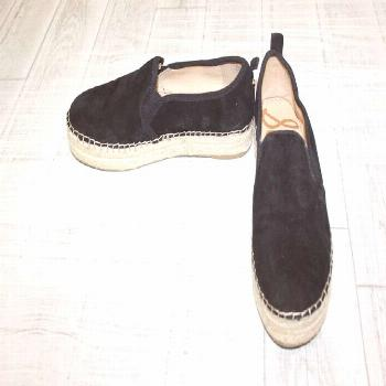 $ 30.80 ❤ Sam Edelman Carrin Casual Slip On Shoes - Women's Size 9.5 W, Black