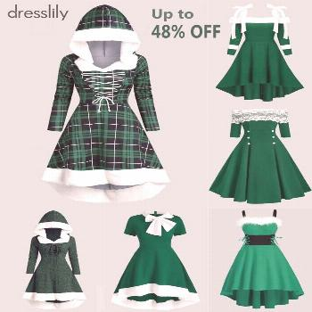 Vintage Dresses - Retro & Vintage-Inspired Dresses -Winter Outfit Ideas - How to Dress This Wi