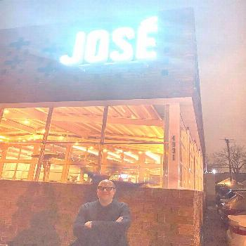 1 person, possible text that says 'JOSE'You can find Restaurants and more on our website.1 person,
