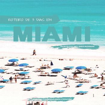 3-day itinerary in Miami, with tours, shopping and restaurants - -