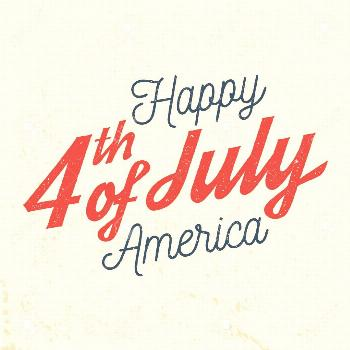 4th of july design in retro style. ,