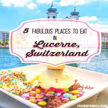 5 Fabulous Places To Eat In Lucerne Switzerland Eating your way through Lucerne, Switzerland is a m