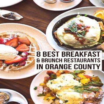A comprehensive list of the best breakfast & brunch restaurants in Orange County from a local. Read
