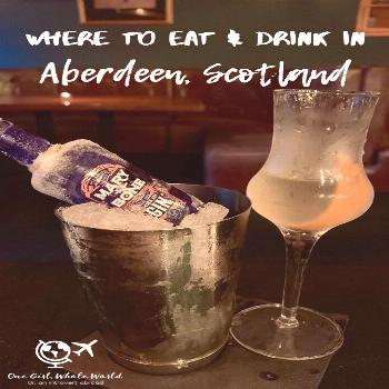 Aberdeen Restaurants & Bars You Have To Try | One Girl, Whole World Where to Eat & Drink in Aberdee