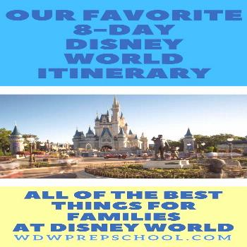 Best 8-day Disney World itinerary for families (resort, restaurants, tou,  Best 8-day Disney World