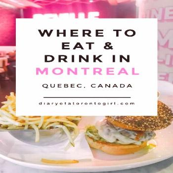 Best brunch and cafe spots in Montreal Quebec | top breakfast lunch and dinner restaurants in MTL |