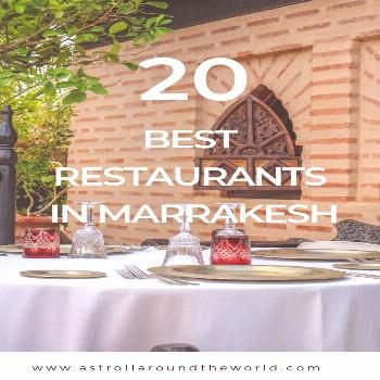 Best Charming Restaurants in Marrakesh You Need To Try | A Stroll around the World Discover the bes