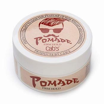 Cab's Firm Hold Hair Pomade for Men with Strong Firm Hold