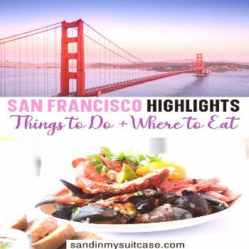 Check out the best San Francisco highlights! Best restaurants in San Francisco | Bicycling the Gold