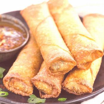 Egg rolls are often storebought or ordered at Chinese restaurants but making this crispy appetize c