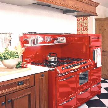 English country decor  Retro kitchens stove, Retro kitch...#country
