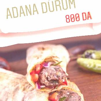 food text that says ADANA DURUM 800 DAYou can find Restaurants and more on our od text that says AD