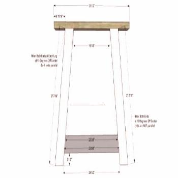 Free Furniture Plans to Build a Restoration Hardware Inspired 10' Provence Beam Dining Table - The