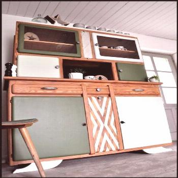 Furniture makeover vintage - retro style Lous Workshop Furniture Makeover Vintage ...#furniture