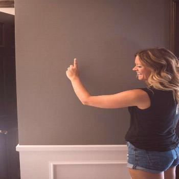 Guide to picking the perfect paint color for your home. Gravel by Restoration Hardware | constructi