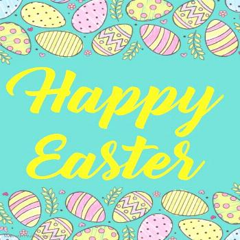 Happy Easter Easter is meant to be a symbol of hope, renewal & new life. Happy Easter !!??