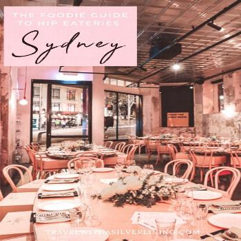 Hip Sydney Eateries | Travel With A Silver Lining Be sure to stop at one of these 7 top eateries in