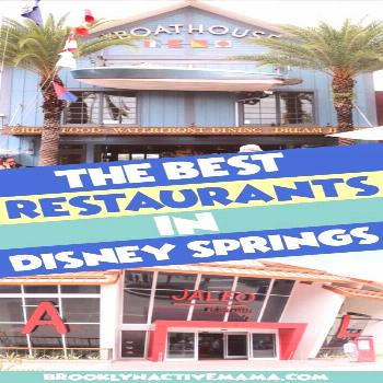Hottest Disney Springs Restaurants — Walt Disney World,  Hottest Disney Springs Restaurants — W
