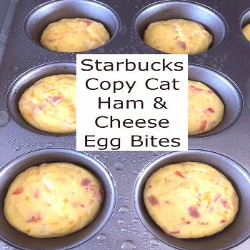 How To Make Quick & Easy Egg Bites. Easy Egg Bite Meal Prep. Quick Breakfast.