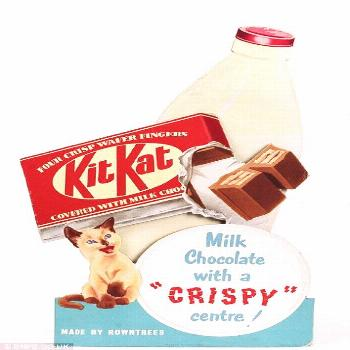 Launched in the 1930s, KitKats became an instant favorite.