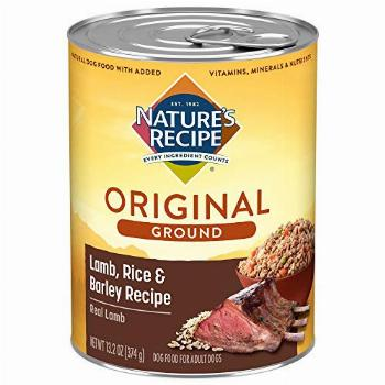 Nature's Recipe Easy to Digest Wet Dog Food, Lamb, Rice &