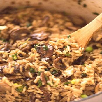 Not just another Mushroom Rice, this one is extra tasty thanks to two little tips that make all the