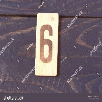 Old retro numbers ,