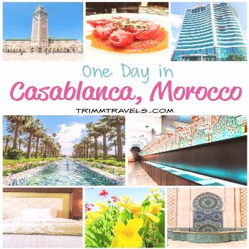 One Day in Casablanca, Morocco: Hotel, Highlights & Historical Eats Are you thinking about visiting