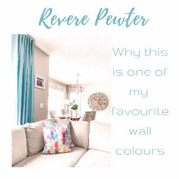 One of my favourite interior wall colours: See why Benjamin Moore Revere Pewter is so easy to decor