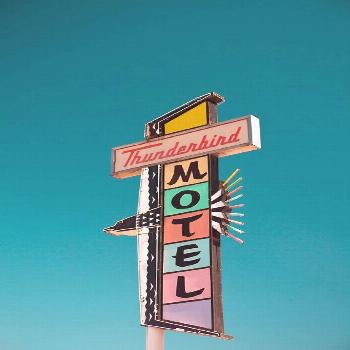 Reno Thunderbird Motel Sign  Pastel Home by RetroRoadsidePhoto, $50.00