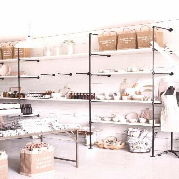 Retail Shelving Inspiration (for the Home)
