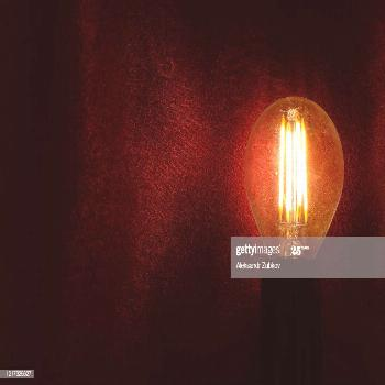 Retro Glass Lamp On A Dark Background Photography ,