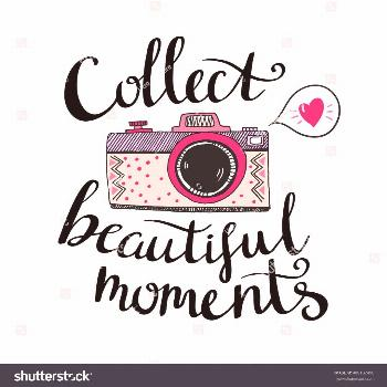 Retro Photo Camera Stylish Lettering Collect Stock Vector (Royalty Free) 408102490   - Art