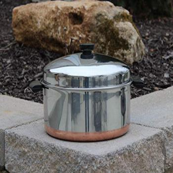 Revere Ware Pre-'68 Double Ring 6 Quart Stainless Steel