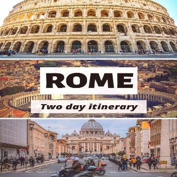 Rome in Two Days: My Itinerary | While I'm Young The best things to do in Rome, Italy! Click for a