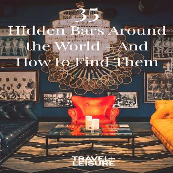 Some of the world's most intriguing bars are in locations you might not expect. These 35 bars aroun