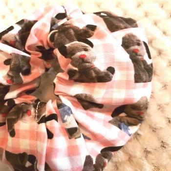 Sweep from the sooty show handmade hair accessories/ retro scrunchie#accessories