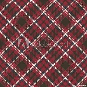 Tartan scotland seamless plaid pattern vector. Retro background fabric. Vintage check color square