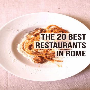 The 20 Best Rome Restaurants (2020) | Female Foodie The 20 Best Rome Restaurants (2020) | Female Fo