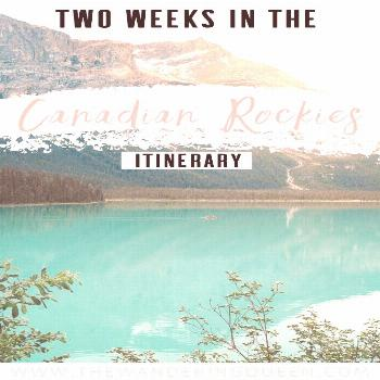 The Best Two Week Canadian Rockies Itinerary The best two week Canadian Rockies Itinerary This pos