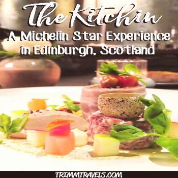 The Kitchin Edinburgh, Scotland: A Michelin Star Experience • Trimm Travels Fine dining at its be