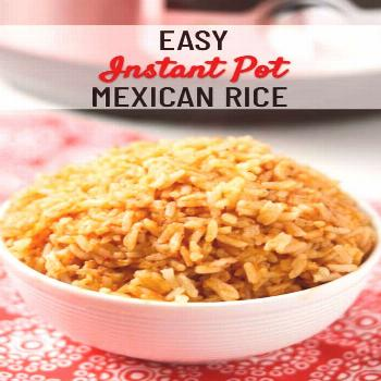 This is the EASIEST instant pot Mexican rice recipe! Unlike many rice recipes that require chopping