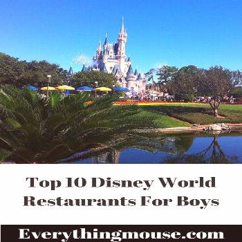Top 10 Best Disney World Restaurants For Boys - EverythingMouse Guide To Disn,  Top 10 Best Disney