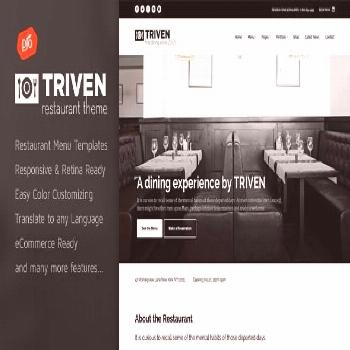 Triven - Restaurant & Winery Theme  ⠀  Show off your work with this easy-to-customize and fully f