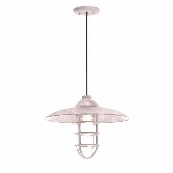 Troy RLM Retro Industrial 13 in. Shade 1-Light Blue Finish Pendant 5DRID13MBLU-BC - The Home Depot#