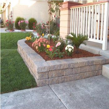 Weathered Stone Retaining Wall Retaining Walls Advanced Raised Garden Bed Retaining Wall Tu35662