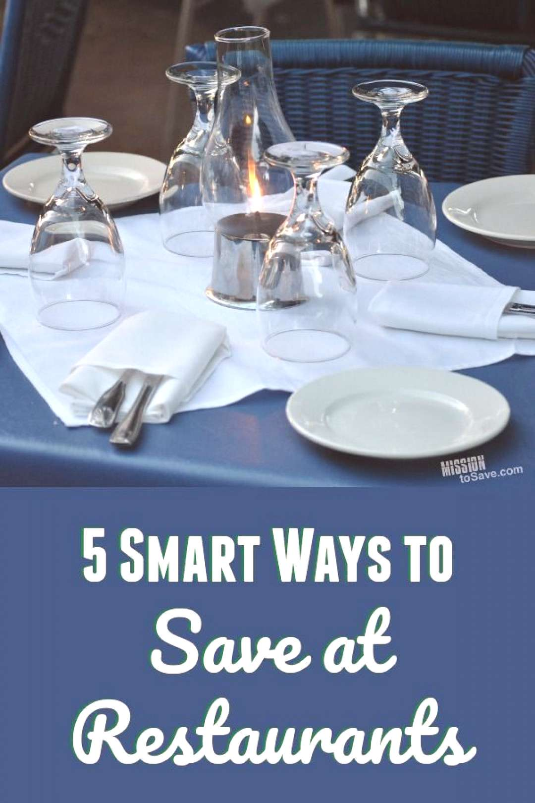 5 Smart Ways to Save at Restaurants If you love to eat out, but don't want it to be a drain on the
