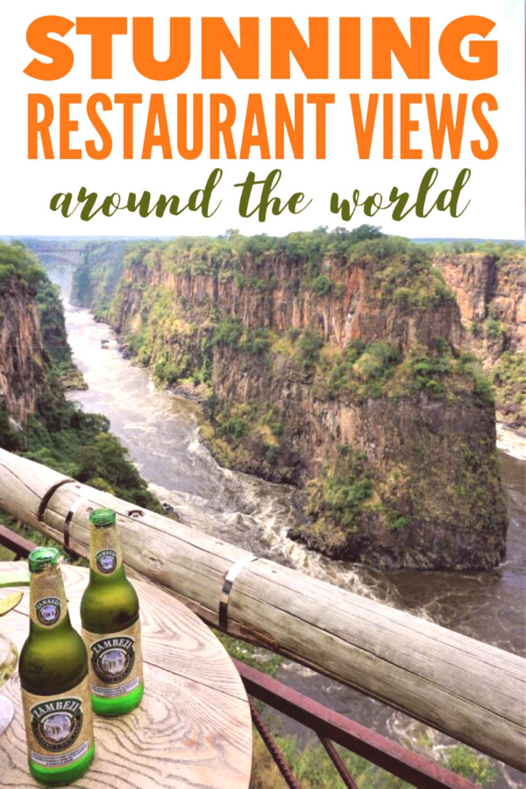 6 Stunning Restaurants With A View Around the World 6 Stunning Restaurants With A View Around the W